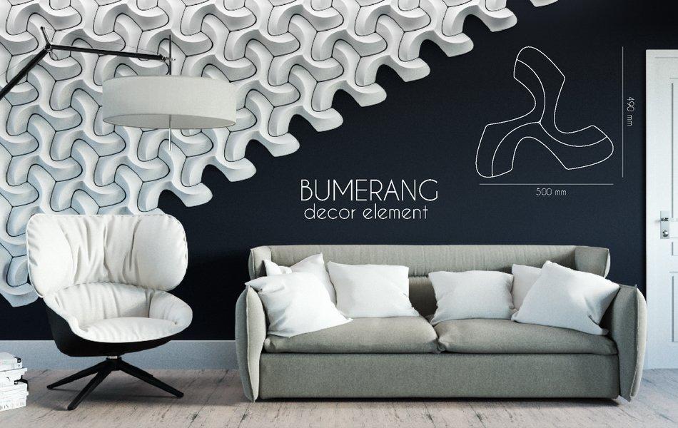 3D элемент Bumerang
