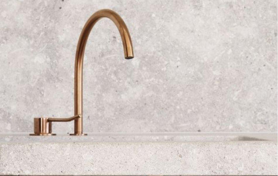 Кухонный фартук бетон