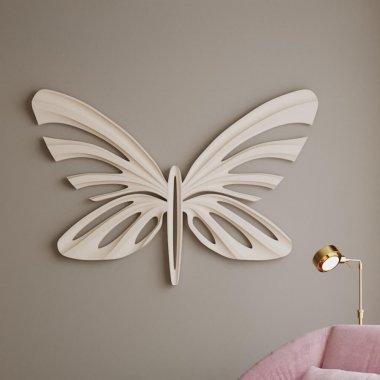 Барельеф бабочка Ikar