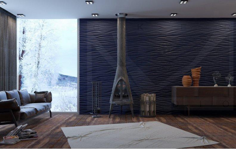 Гипсовые панели - новый тренд в отделке стен
