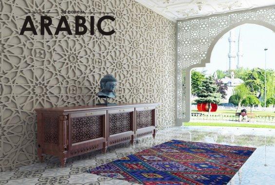 Гипсовая панель Arabic
