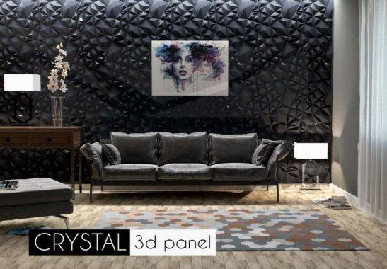 Гипсовая панель Crystal