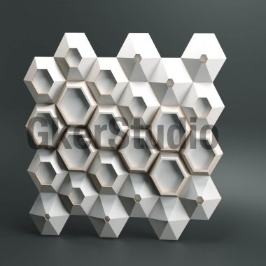 Гипсовая панель Hive