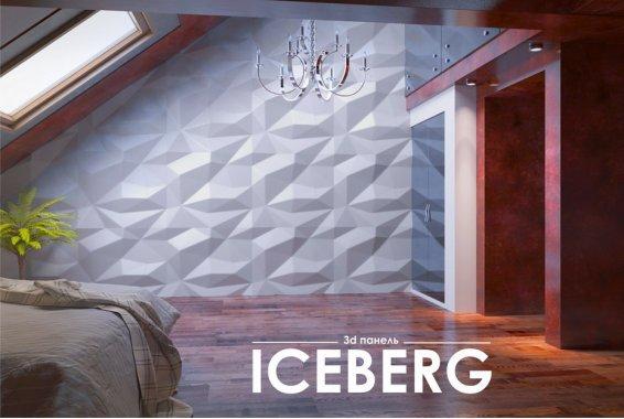 Гипсовая панель Iceberg