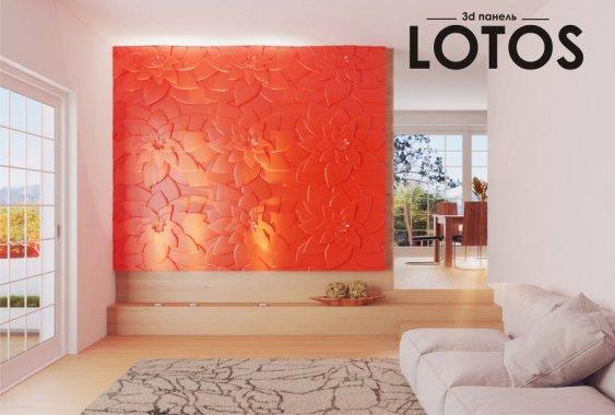 Гипсовая панель Lotos