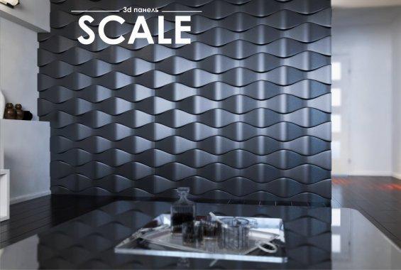 Гипсовая панель Scale