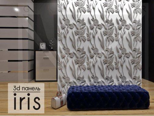 Гипсовая панель Iris
