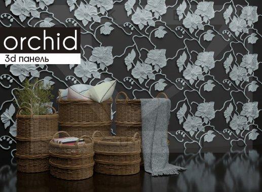 Гипсовая панель Orchid