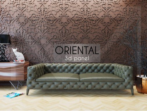 Гипсовая панель Oriental