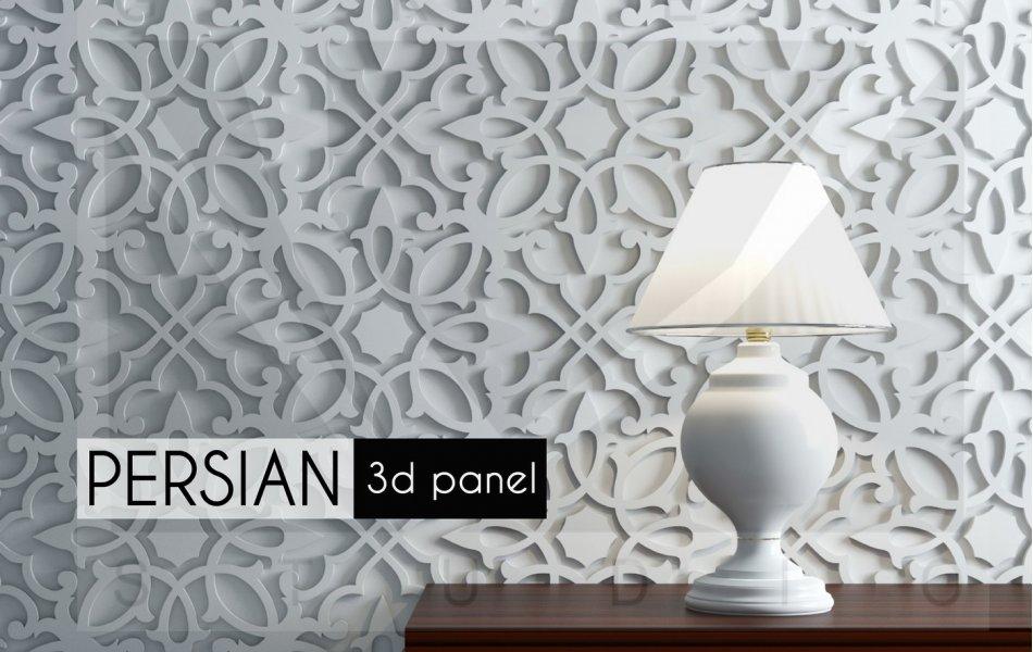 Гипсовая панель Persian