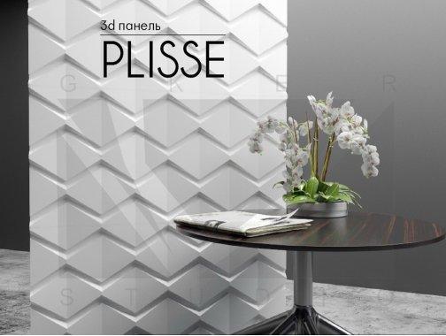 Гипсовая панель Plisse