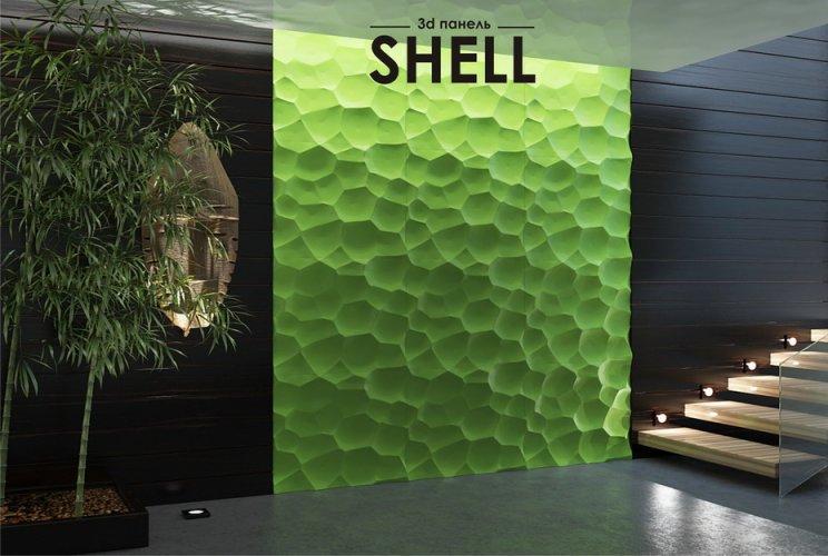 Ремонт с гипсовыми 3d панелями