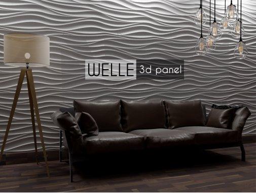 Гипсовая панель Welle