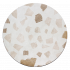 Круглая столешница терраццо #002
