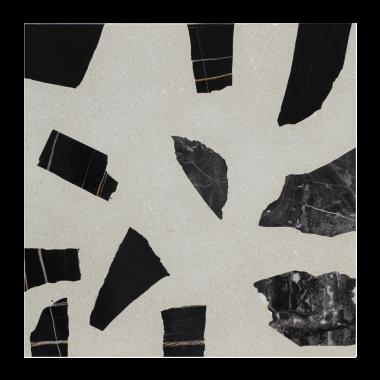 Круглая столешница терраццо #004