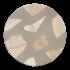Круглая столешница терраццо #005