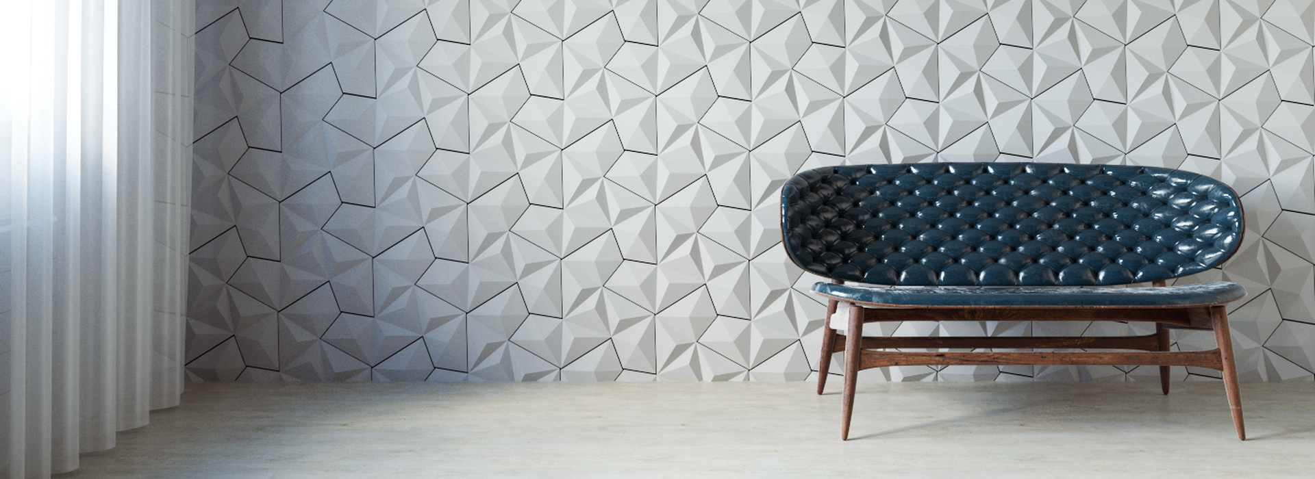 Гипсовые 3D элементы для стен