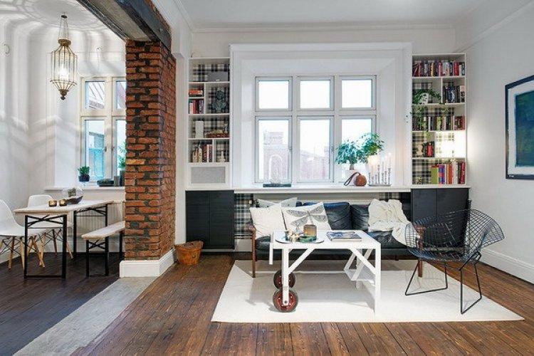 Отделка квартиры студии