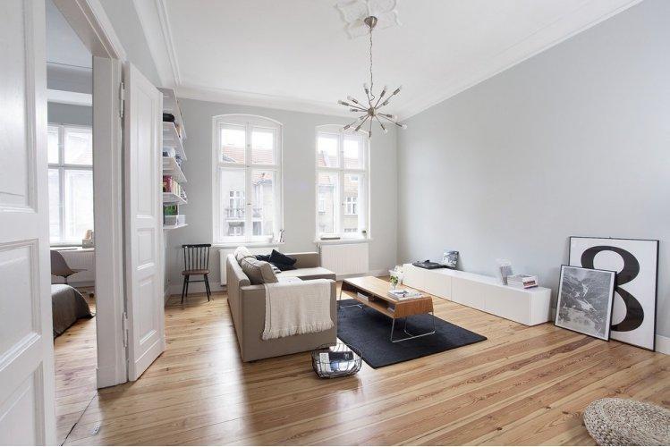Апартаменты в стиле минимализм
