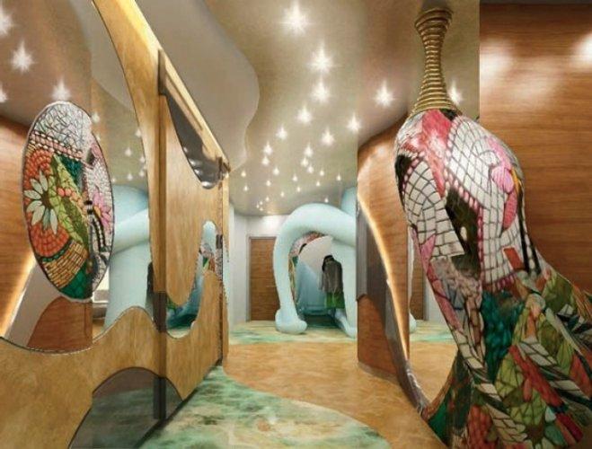 Дизайн интерьера в стиле Гауди