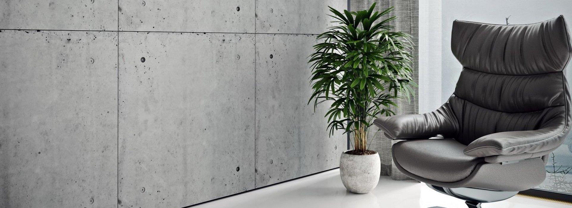 Loft панели из декоративного бетона
